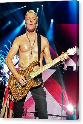 Phil Collen Of Def Leppard 5 Canvas Print by David Patterson