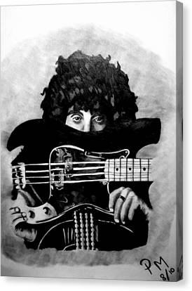 Phil Lynott Canvas Print by Pauline Murphy