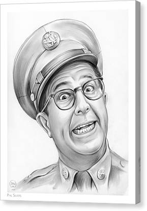 Phil Silvers Canvas Print by Greg Joens