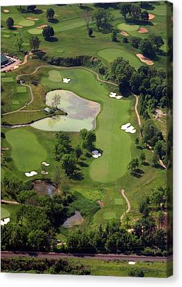 Philadelphia Cricket Club Militia Hill Golf Course 3rd Hole Canvas Print by Duncan Pearson
