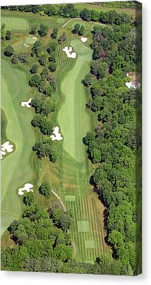 Philadelphia Cricket Club Militia Hill Golf Course 7th Hole Canvas Print by Duncan Pearson