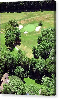 Philadelphia Cricket Club St Martins Golf Course 5th Hole 415 W Willow Grove Ave Phila Pa 19118 Canvas Print by Duncan Pearson
