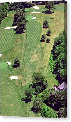 Philadelphia Cricket Club St Martins Golf Course 8th Hole 415 W Willow Grove Ave Phila Pa 19118 Canvas Print by Duncan Pearson