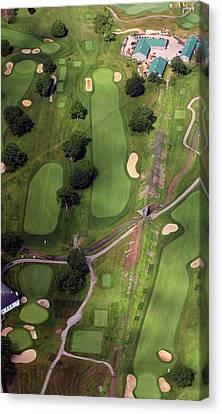 Philadelphia Cricket Club Wissahickon Golf Course 11th Hole Canvas Print by Duncan Pearson