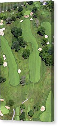 Philadelphia Cricket Club Wissahickon Golf Course 4th Hole Canvas Print by Duncan Pearson