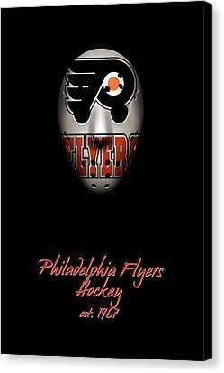 Philadelphia Flyers Established Canvas Print by Joe Hamilton