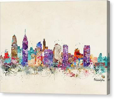 Philadelphia Pennsylvania  Canvas Print by Bri B
