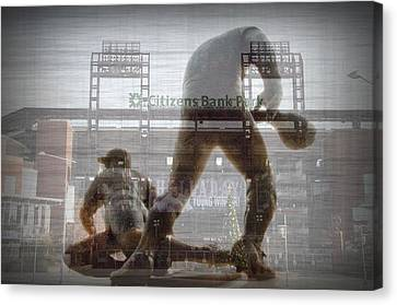 Philadelphia Phillies - Citizens Bank Park Canvas Print by Bill Cannon