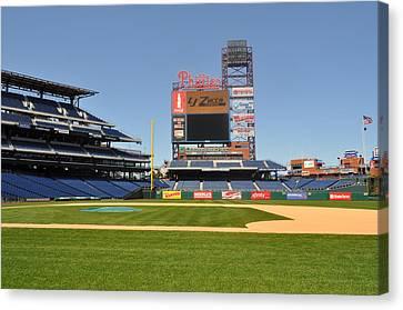 Philadelphia Phillies Stadium  Canvas Print by Brynn Ditsche
