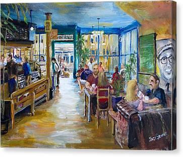 Philz Coffee San Francisco Canvas Print by Jack Skinner