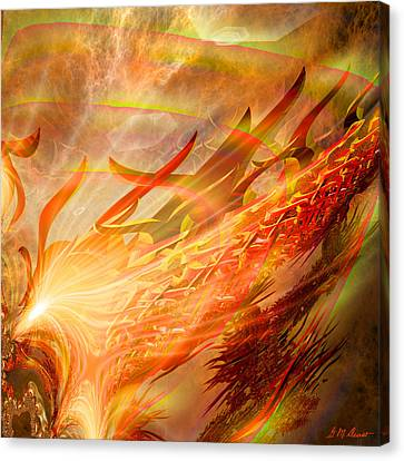Phoenix Canvas Print by Michael Durst