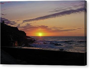 Photographer's Sunset Canvas Print by Terri Waters