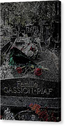 Piaf Canvas Print by Corinne Barreca