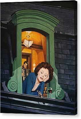 Piaf Canvas Print by Jo King