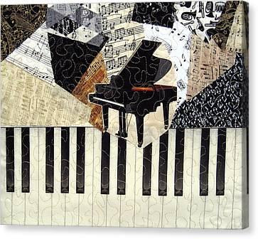 Piano Concerto Canvas Print by Loretta Alvarado