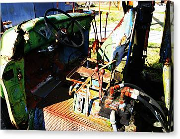 Picker Truck Canvas Print by Marcus Adkins