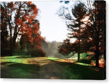 Picture Perfect Morning Canvas Print by Bill Cannon