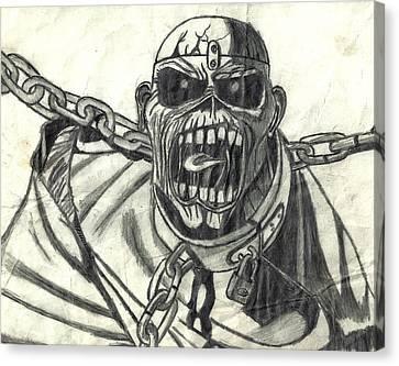 Piece Of Mind Canvas Print by Rachel Zigman