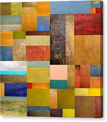 Pieces Project Lll Canvas Print by Michelle Calkins