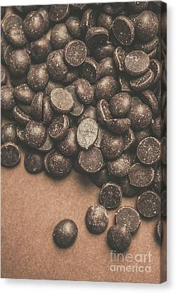 Pile Of Chocolate Chip Chunks Canvas Print by Jorgo Photography - Wall Art Gallery