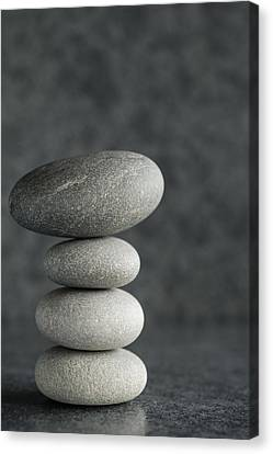 Pile Of Pebbles II Canvas Print by Marco Oliveira