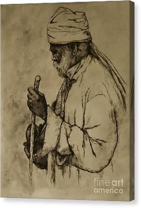 Pilgrim Canvas Print by Tim Thorpe