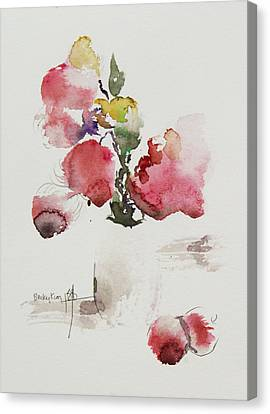Pink Canvas Print by Becky Kim