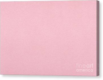Pink Smooth Cardboard Texture Canvas Print by Arletta Cwalina