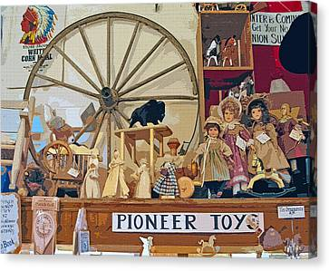 Pioneer Series 5 Canvas Print by Steve Ohlsen