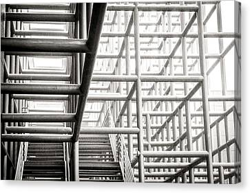 Piping Maze 2 Canvas Print by Jijo George