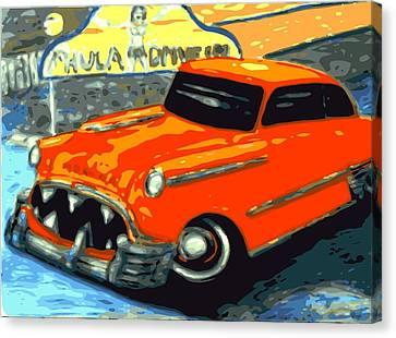 Piranha Chevy  Canvas Print by Larry Lamb
