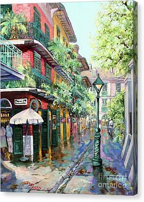 Pirates Alley - French Quarter Alley Canvas Print by Dianne Parks