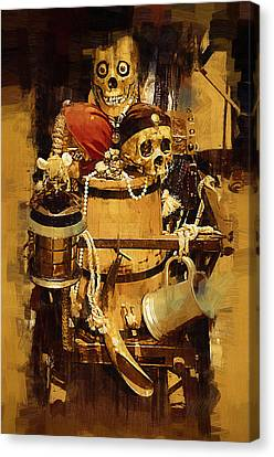 Pirates Loot Canvas Print by Clarence Alford