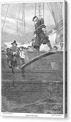 Pirates: Walking The Plank Canvas Print by Granger