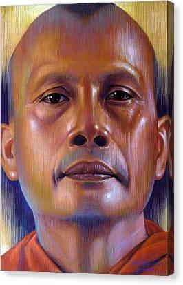 Pisal Dhama Phatee Canvas Print by Chonkhet Phanwichien