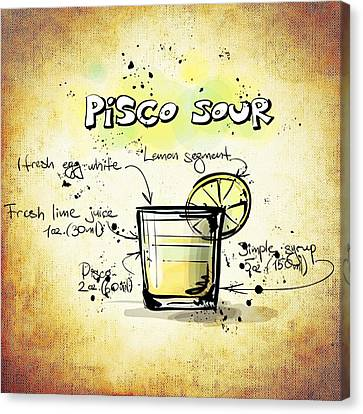 Pisco Sour Canvas Print by Movie Poster Prints