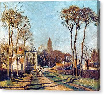 Pissarro: Voisins, 1872 Canvas Print by Granger