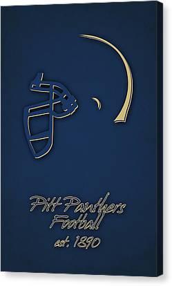 Pitt Panthers Canvas Print by Joe Hamilton