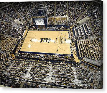 Pittsburgh Panthers Petersen Events Center Canvas Print by Replay Photos
