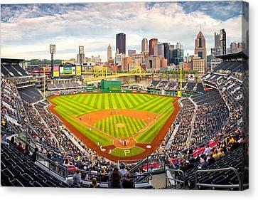 Pittsburgh Pirates  Canvas Print by Emmanuel Panagiotakis