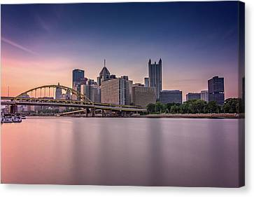 Pittsburgh Canvas Print by Rick Berk