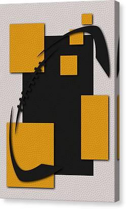 Pittsburgh Steelers Football Art Canvas Print by Joe Hamilton