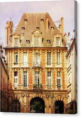 Place Des Vosges Canvas Print by Heidi Hermes
