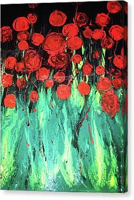 Place For Me Canvas Print by Monique Grant-Patel