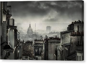 Plague Canvas Print by La Taverne Aux