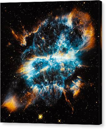 Planetary Nebula Ngc 5189 Canvas Print by Marco Oliveira