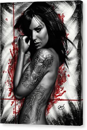 Plata O Plomo Canvas Print by Pete Tapang