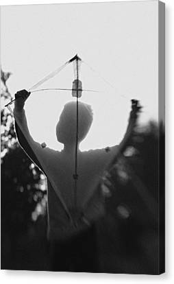 Play A Kite #2 Canvas Print by Jay Satriani