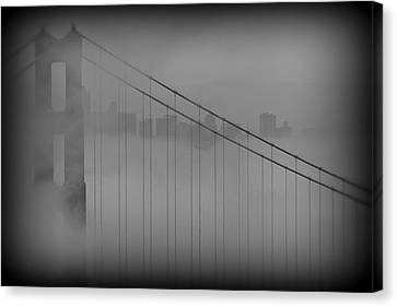 Play Misty For Me Canvas Print by Edward Kreis