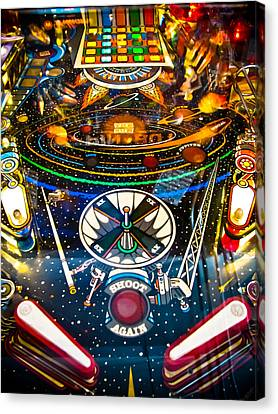 Play Pinball Canvas Print by Colleen Kammerer